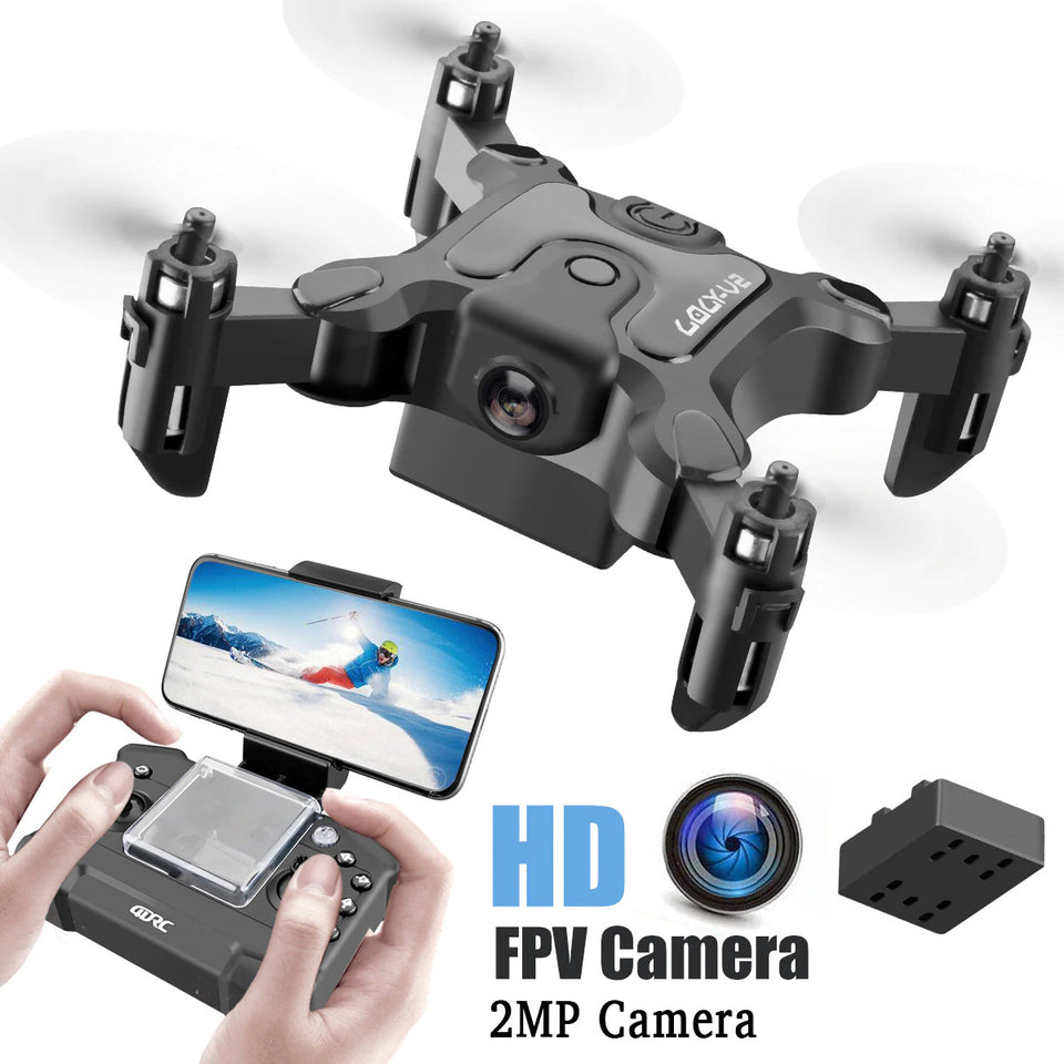 Mini Drone With HD Camera Multi Mode RC Quadcopter RTF WiFi FPV Quadcopter Follow Me RC