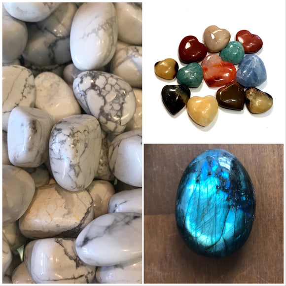 Carved and Polished stones