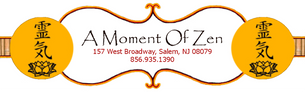 A Moment of Zen in Salem, NJ sells crystals, jewelry, candles, incense, oils, gifts, tarot