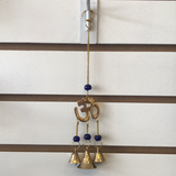 Hanging brass bells