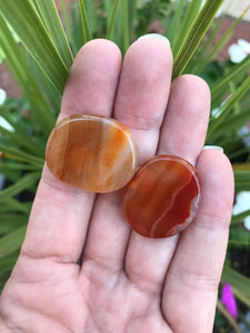Banded agate mini disk