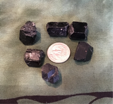 Black tourmaline points