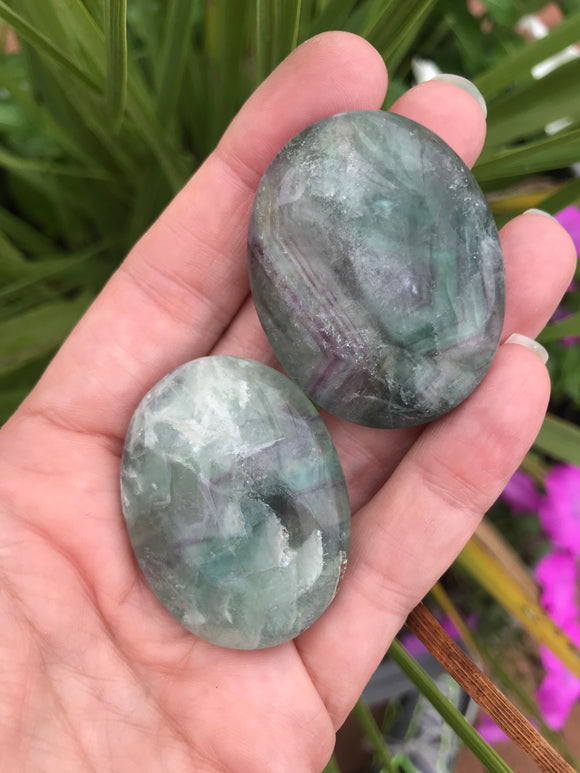 Fluorite pillows
