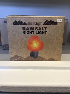 Himalayan salt night lights