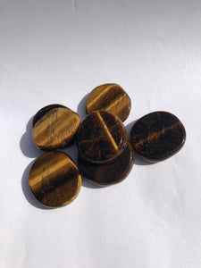 Tiger eye disks small