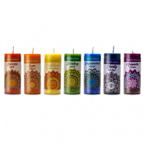 Chakra magic candles