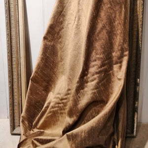 Golden Dupion Silk Fabric