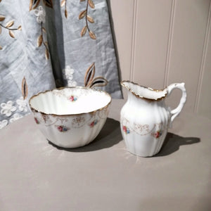 Royal Albert Sugar Bowl & Jug