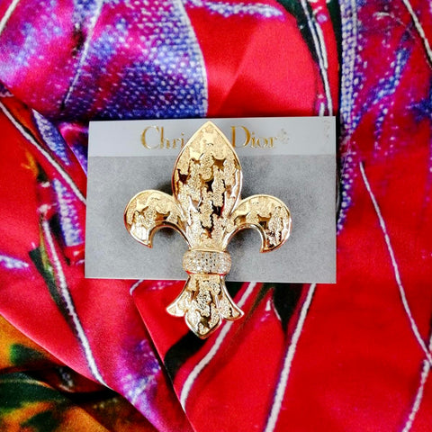 Christian Dior 1990s Brooch & Pendant