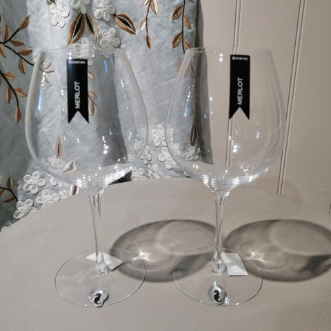 Waterford Large Wine Glasses