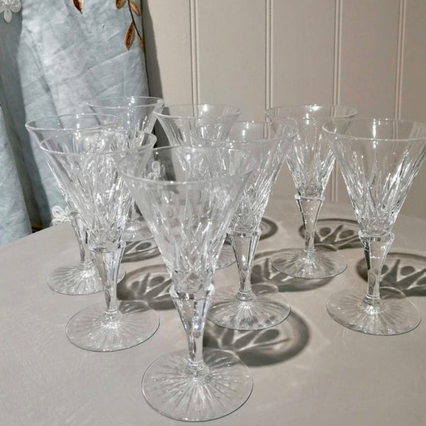 Vintage Port / Sherry Crystal Glasses