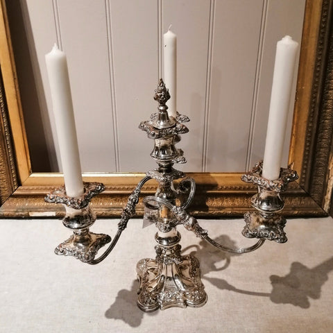 Late 19th Century Silver Plated Candelabra