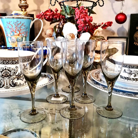 Set of 6 Sherry Glasses