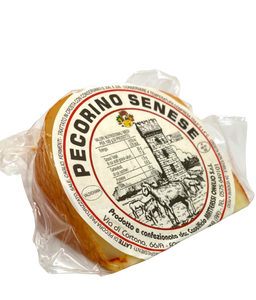 Semi-seasoned pecorino from Siena
