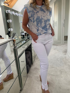 Lucinda Skinny Stretch Jeans - White