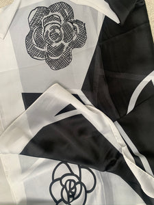 Chanel Inspired Print Scarf (Limited Edition)