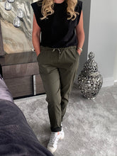 Load image into Gallery viewer, Minerva Sparkle Magic Trousers - Khaki