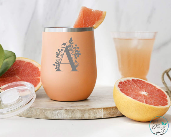 Personalised Monogram Insulated Tumbler - 354ml/12oz