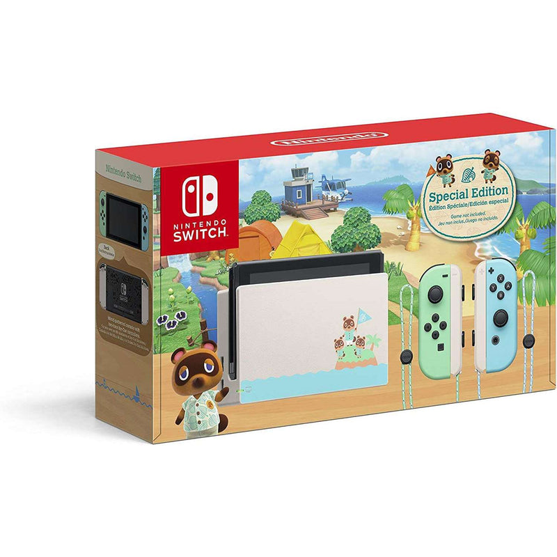 Nintendo Switch 1.1 Animal Crossing - Edition Limitada
