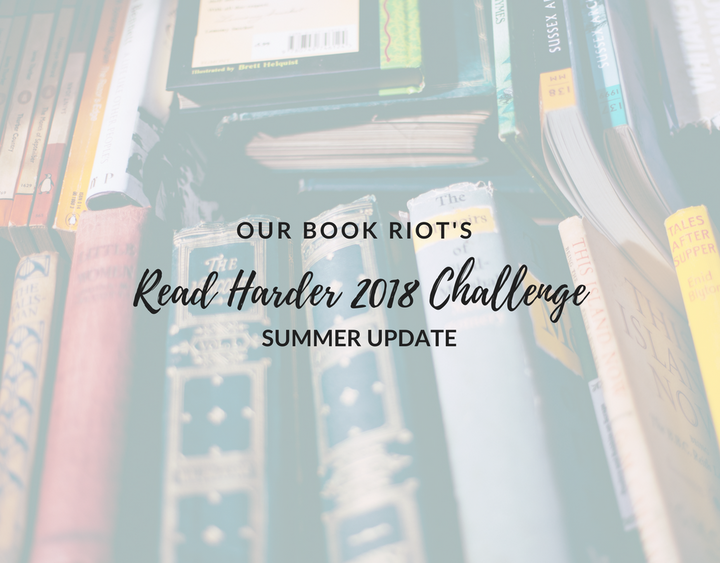 book riot, read harder challenge 2018, bookriot read harder