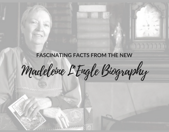 madeleine l'engle biography, madeleine l'engle facts, a light so lovely