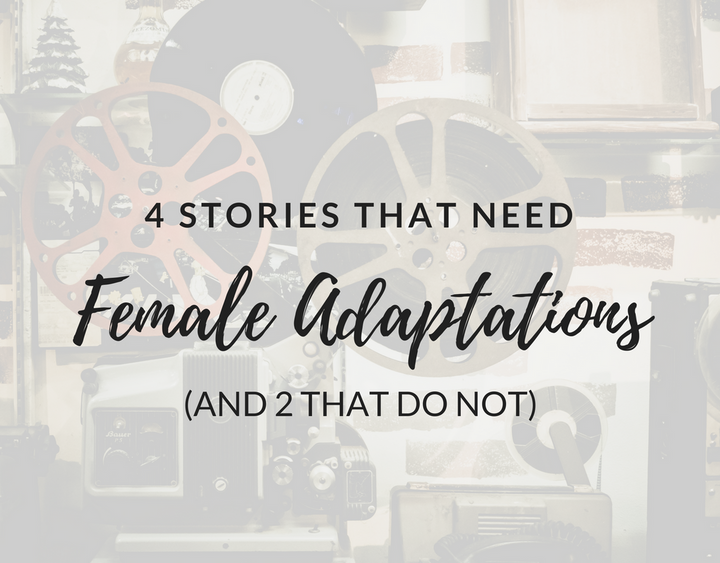 female adaptations, all-female cast