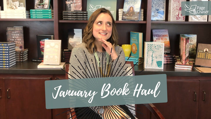 january book releases book haul video
