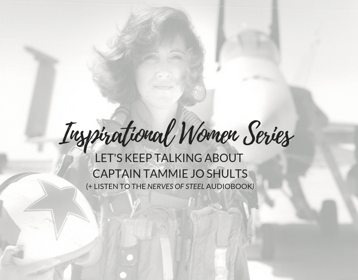 Inspirational Women Series: Let's Keep Talking about Captain Tammie Jo Shults