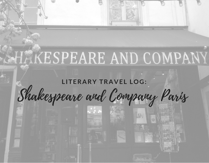 literary travel, Shakespeare and Company Paris