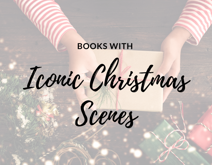 books with iconic christmas scenes