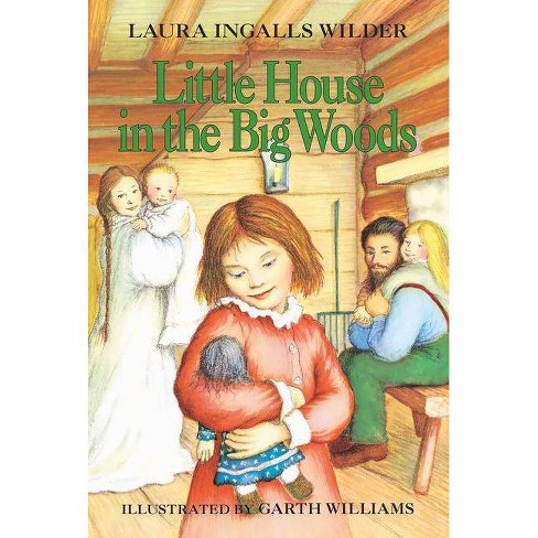 books with iconic christmas scenes little house in the big woods
