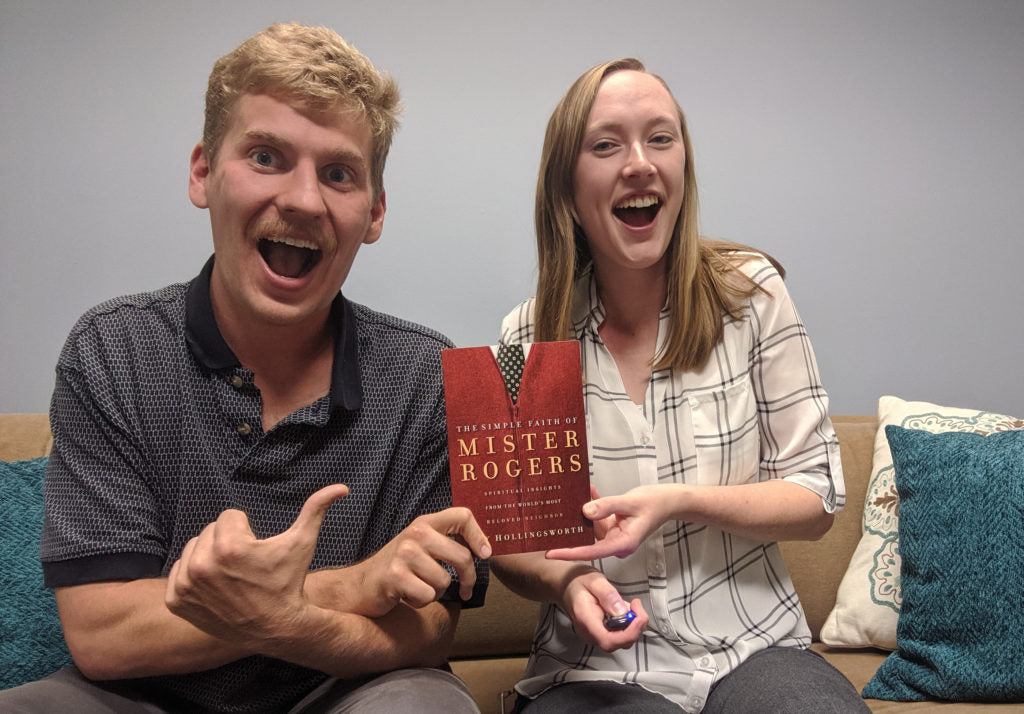 page chaser book club the simple faith of mister rogers