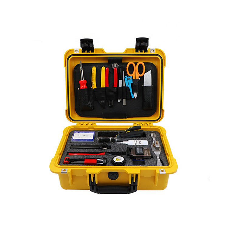 FCST210203 Fiber Optic cable blower Fusion Splicing Tool kit