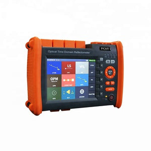 Fiber Optic Optical Domain Time Reflectometer 5.8 Inch LCD Touch Screen FCST080612-S1