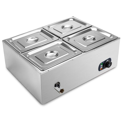 Food Warmer Stainless Steel Electric Hot Well Price Brand Good Prestige