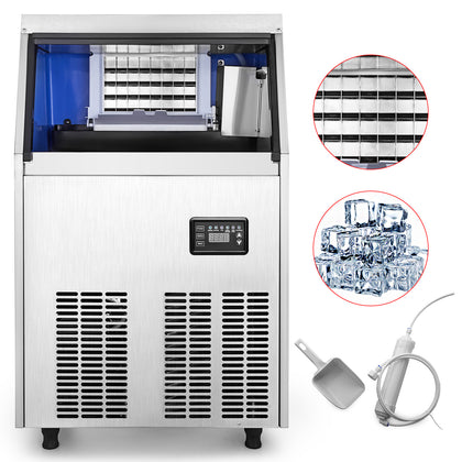 50KG/110LBS Commercial Ice Cube Making Machine