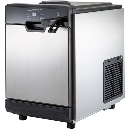 50KG 110LBS Ice Maker With Cool Water Dispenser