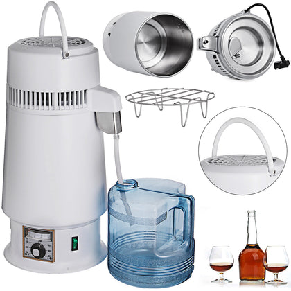 4L Destilador de Agua Water Distiller