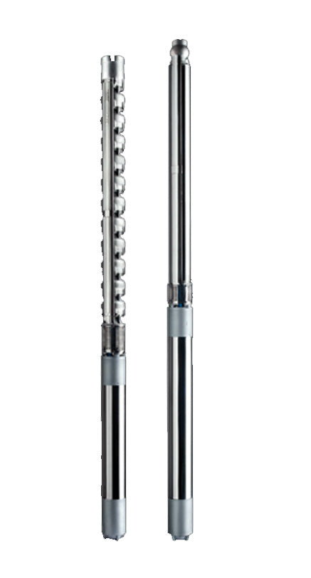 E6RX-E6SX-E8PX-E10PX Stainless Steel Electric Mixed Flow and Radial Submersible Pumps