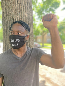 BLACK LIVES MATTER FACE COVER -  SHIPS FROM FLORIDA