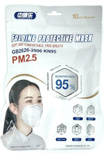 Load image into Gallery viewer, CDC Appendix A Approved KN95 Masks (10-Packs) - Case of 1000 Masks
