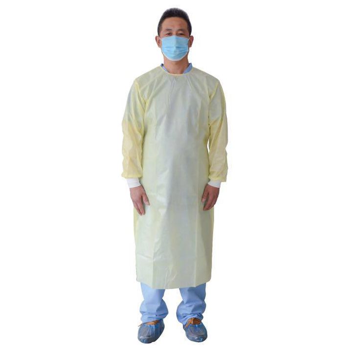 AAMI Level 1 Isolation Gowns (80 Gowns)