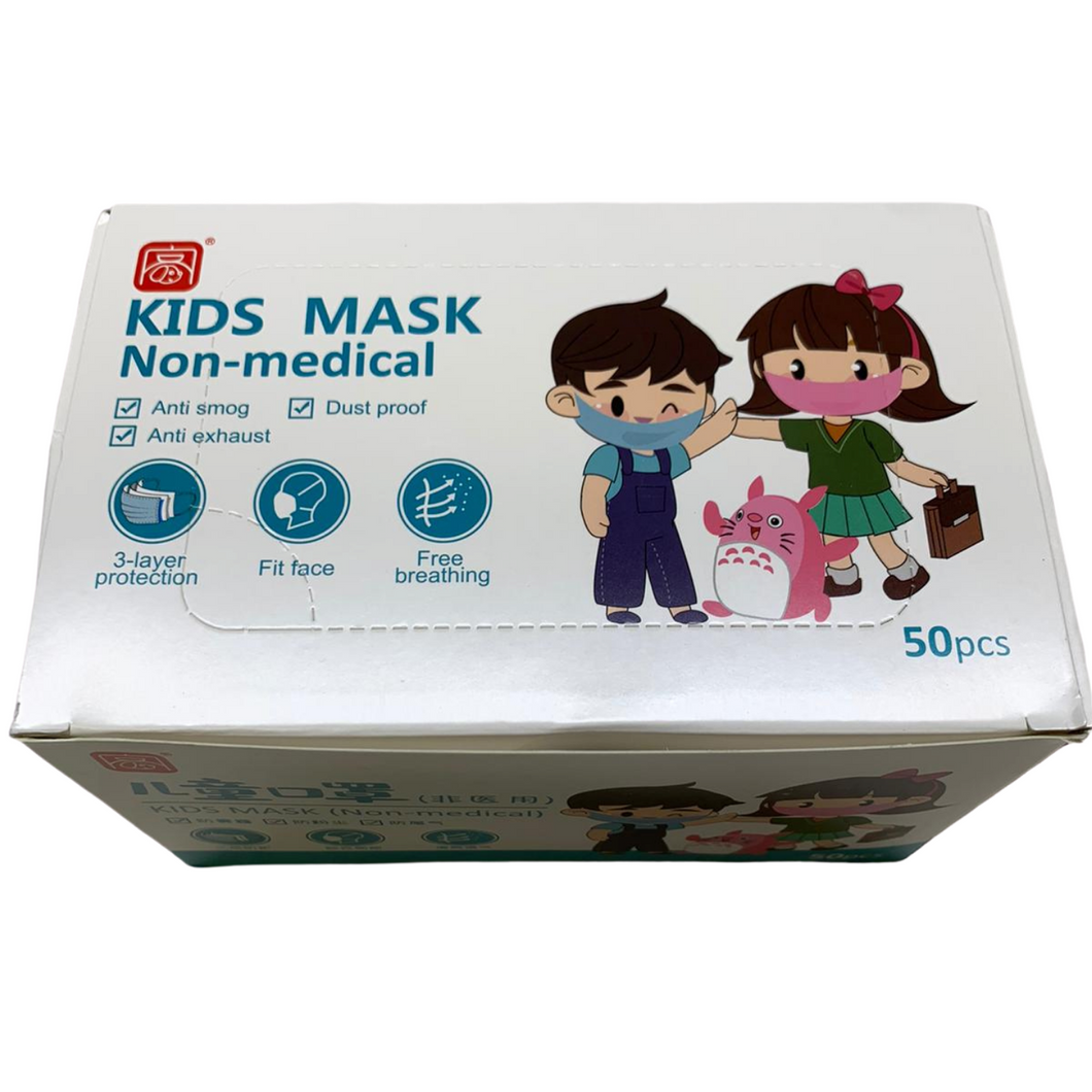 Kids 3-Ply Masks (500 Masks)