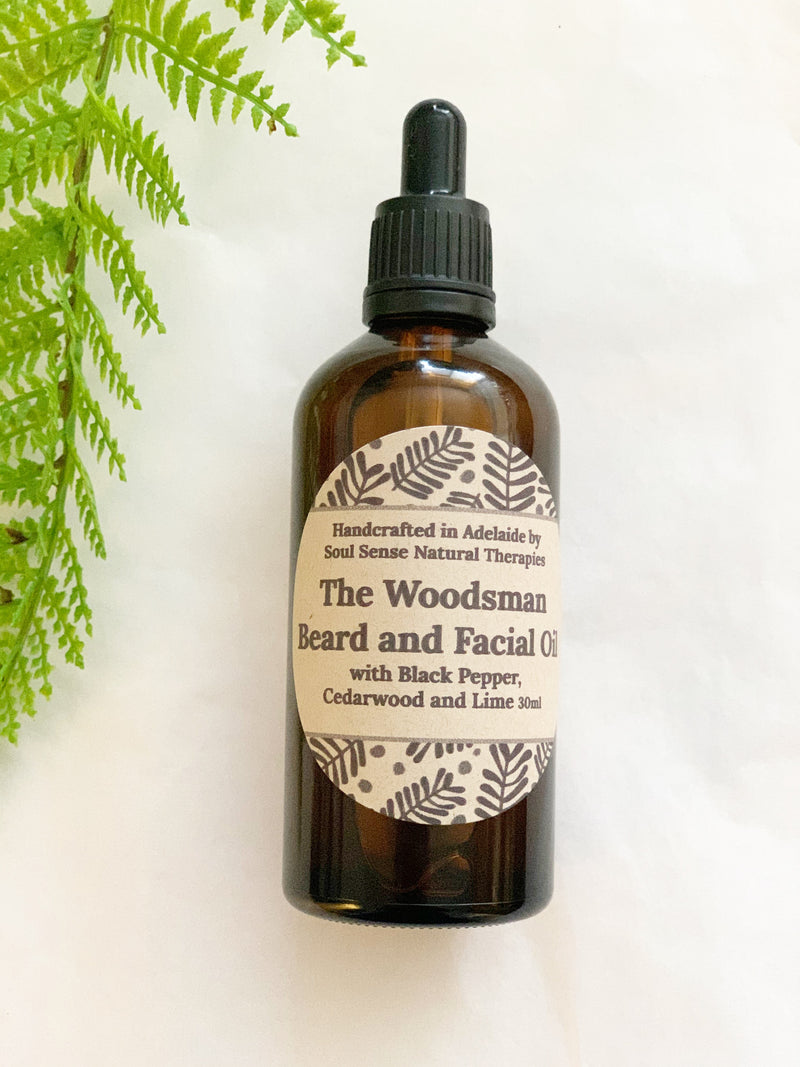 The Woodsman Beard and Facial Oil