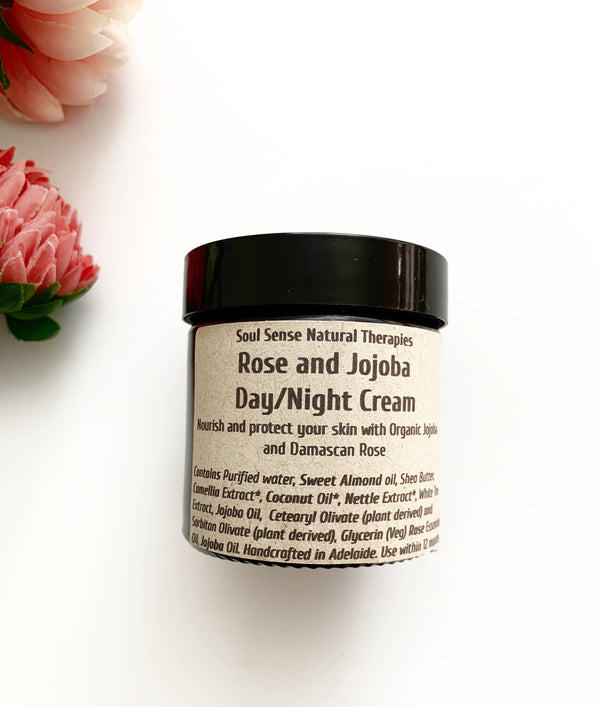 Rose and Jojoba Hydrating Day/Night Cream - Medium