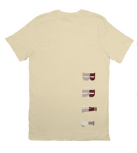 Load image into Gallery viewer, Limited Edition - DOTS Fitted Short Sleeve Statement Tee - Woven