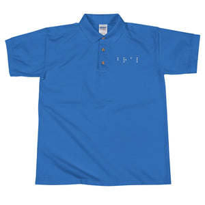 DOTS Embroidered Polo Shirt