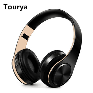 Tourya B7 Wireless, Foldable, Bluetooth Headphones