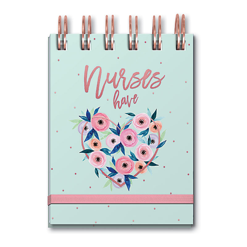 Nurses Have Heart Spiral Notebook