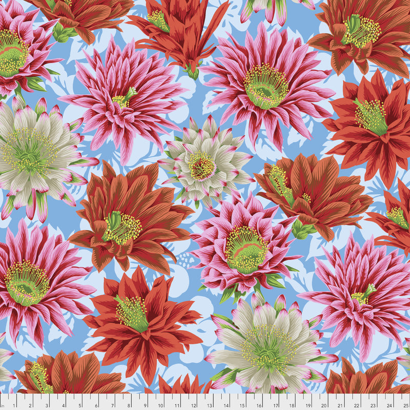 Cactus Flower Multi - Philip Jacobs - Kaffe Fassett Collective Spring 2019